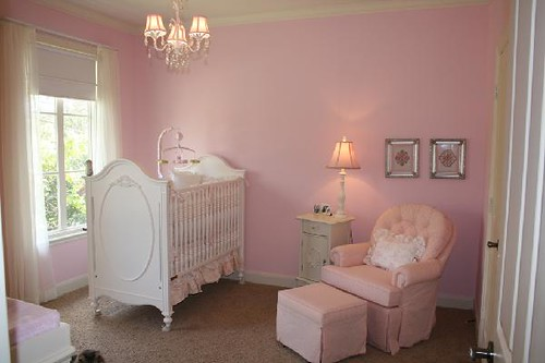 pink baby room flickr photo