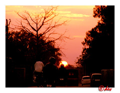 SUNSET IN CHANDIGARH