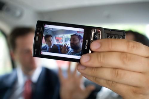 Documentally interviewing Nick Clegg