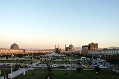 Naqsh-e Jahan; before sunset