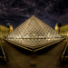 The face of the Louvre by A.G. Photographe