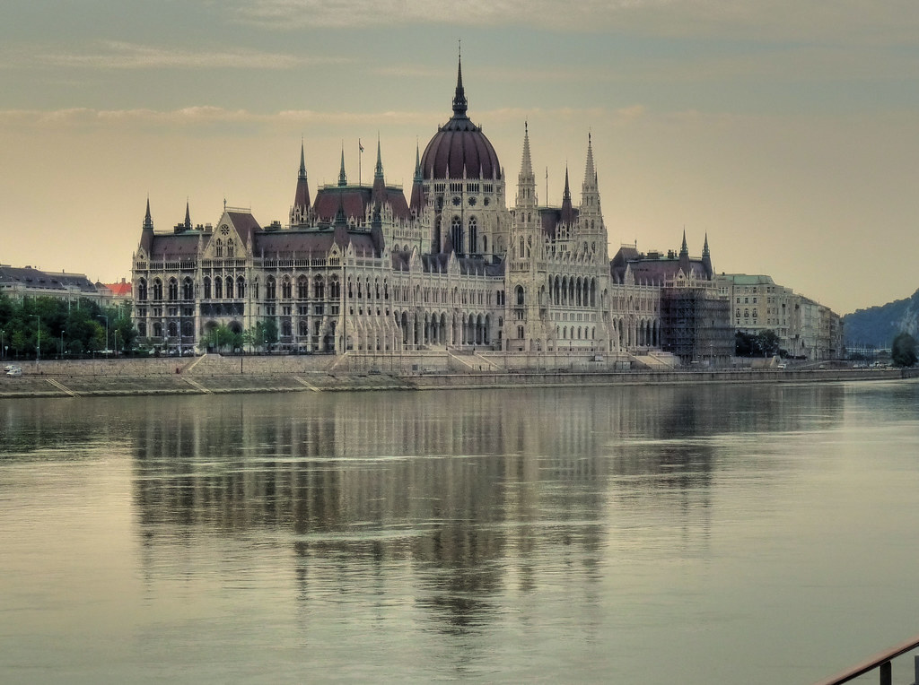 Hungarian Parliament - the Pest side of the Danube