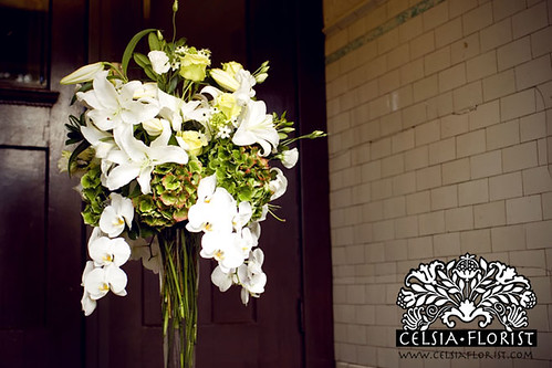 Celsia Florist: Wedding Centerpiece Design - Vancouver Florist
