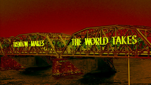 Trenton Makes The World Takes Bridge by Bill Abrams