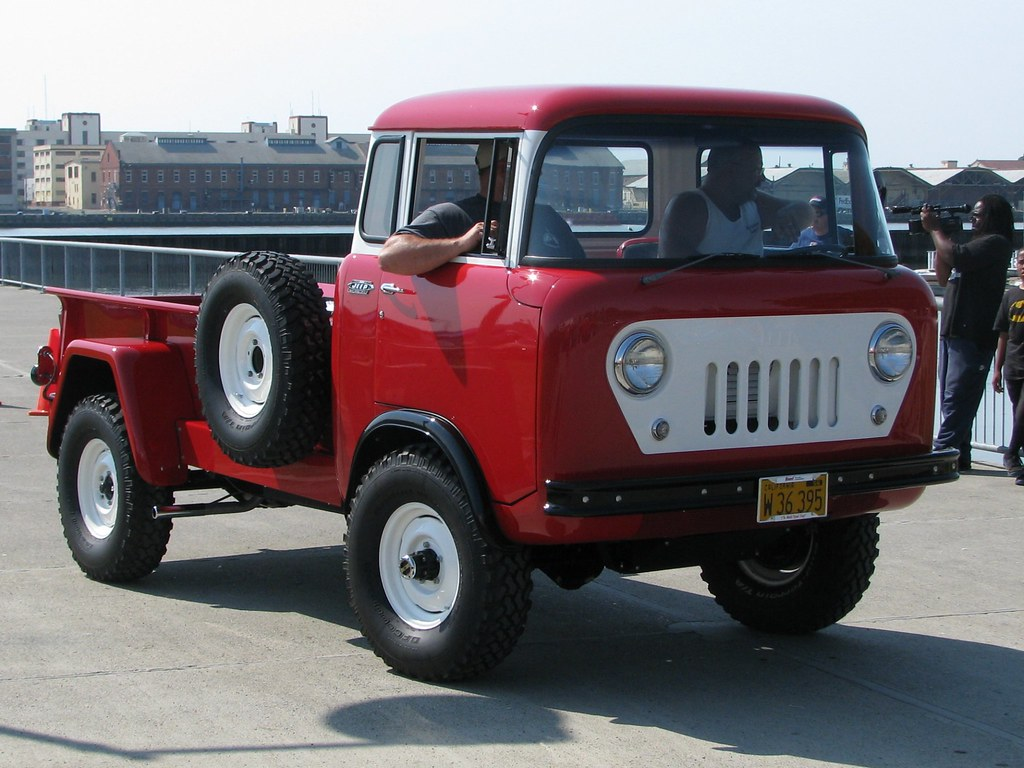1960 willys jeep fc 170 c o e truck w 36 395 5