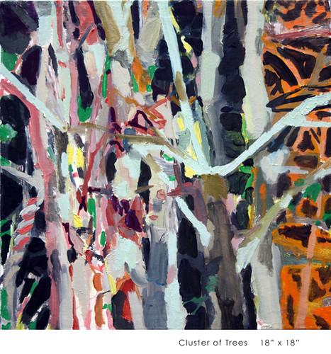 "Allison Gildersleeve ""Cluster of Trees"""