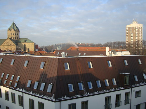 Dom und Iduna-Hochhaus by Jens-Olaf