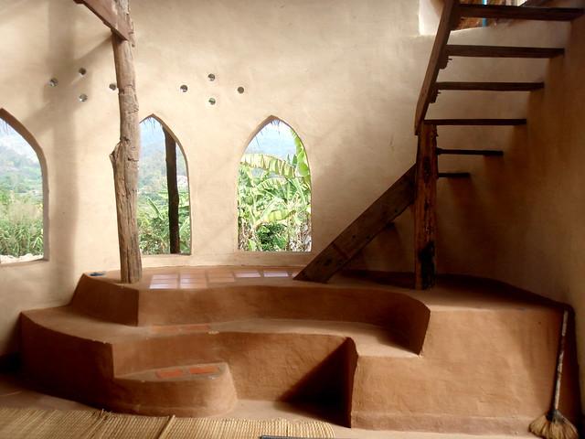Interior Of Adobe House Olympus Digital Camera Flickr
