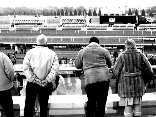 Spectators - B&W