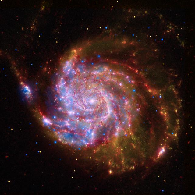 Spiral Galaxy M101 -- NASA's Great Observatories | Flickr ...