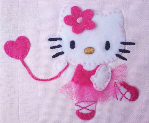 Fralda Hello Kitty Bailarina, pormenor | Flickr - Photo Sharing!
