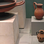 Pottery from the 5th century BC