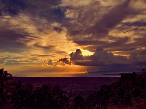sunset nature clouds philippines peak summit davao sweetcaroline samal davaogulf olympuse520 carolineespejon putingbatopeak