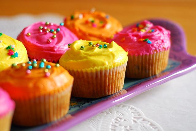 Spring cupcakes. | Flickr - Photo Sharing!