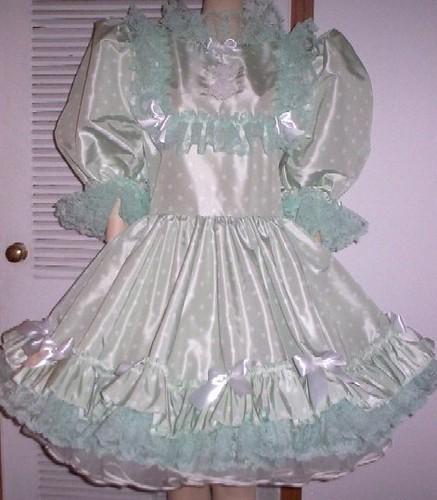 Satin Sissy Dress