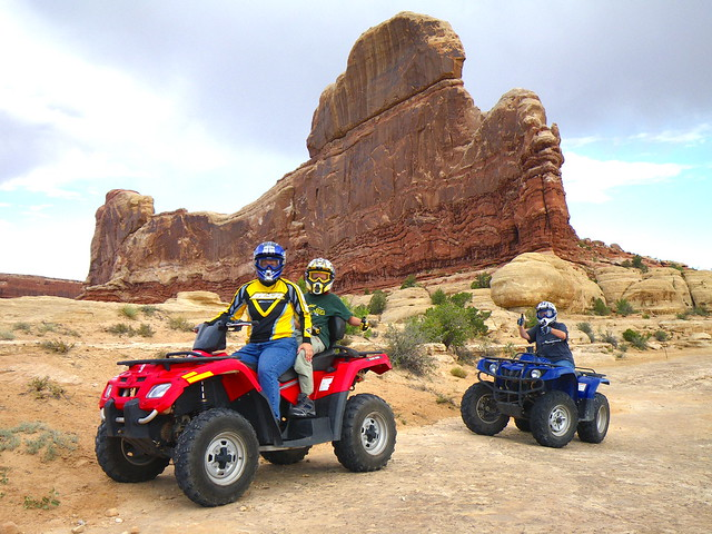 Riding ATV Las Vegas