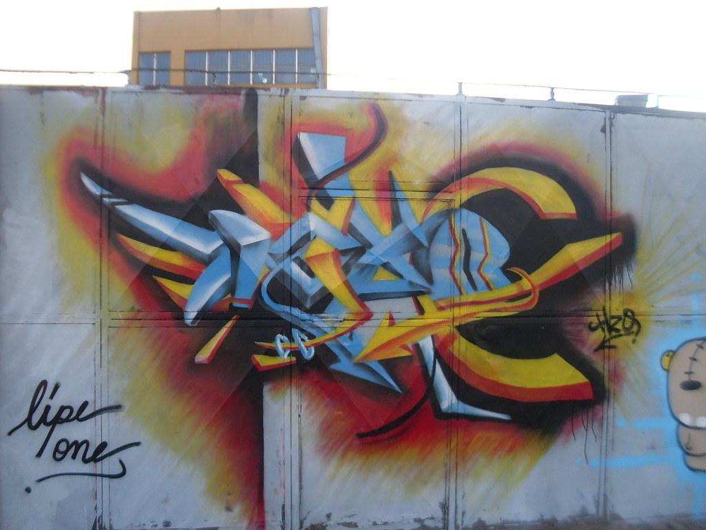 Evento de graffiti em Osasco - 12 de julho de 2009