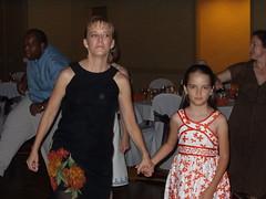 Cousins Belinda and Hannah Garcia