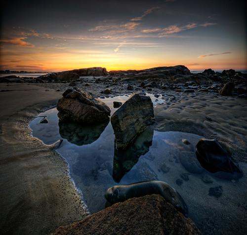 ocean panorama beach pool rock sunrise dawn sand nikon rocks maine sigma moe 1020mm fortunes tidal hdr biddeford d300 5xp vertorama moe76