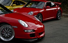 ruf ctr(0.0), techart 997 turbo(0.0), supercar(0.0), automobile(1.0), automotive exterior(1.0), porsche 911 gt3(1.0), wheel(1.0), vehicle(1.0), performance car(1.0), automotive design(1.0), porsche 911(1.0), porsche(1.0), rim(1.0), bumper(1.0), land vehicle(1.0), luxury vehicle(1.0), sports car(1.0),