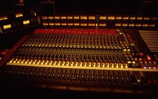 Manta Sound Studio 3 MCI Recording Console
