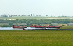 2009.06 Reims - Centenaire de l'aviation - Patrouille jordanienne