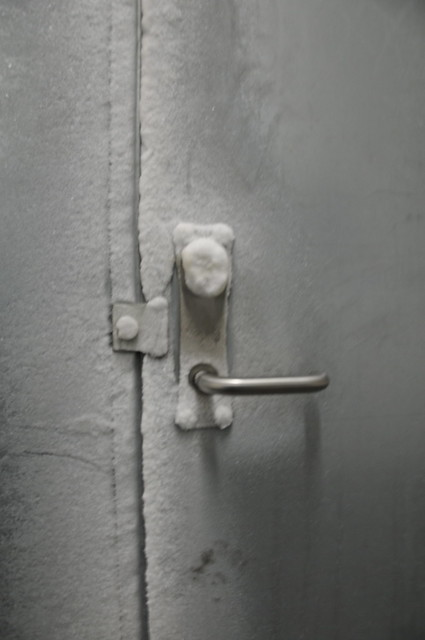Frozen Vault Door
