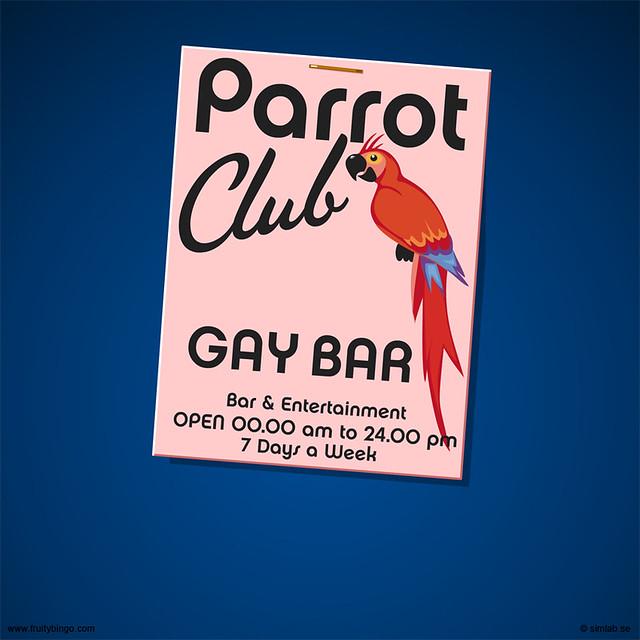 Gay Bar Logo 69