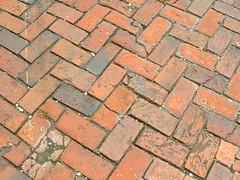 Worn down bricks