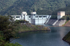 scene from a dam