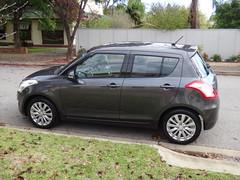 toyota vitz(0.0), automobile(1.0), wheel(1.0), vehicle(1.0), suzuki swift(1.0), city car(1.0), land vehicle(1.0), hatchback(1.0),