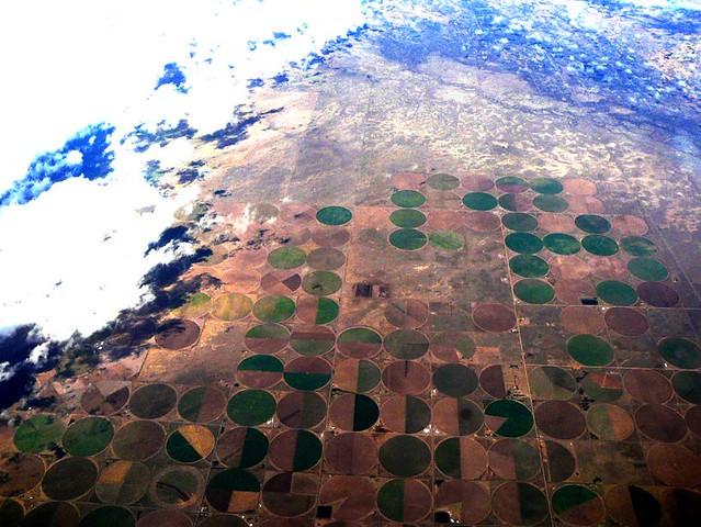 Cultures circulaires (désert, Etats-Unis)