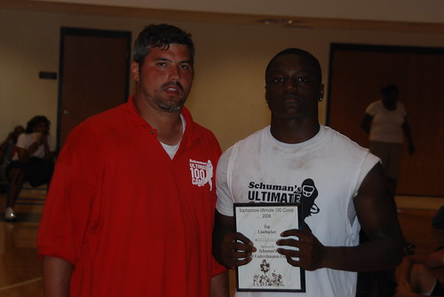Jeremiah George LB MVP by nationalunderclassmencombine