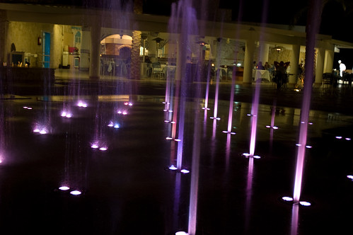 Slow Shutter Fountain