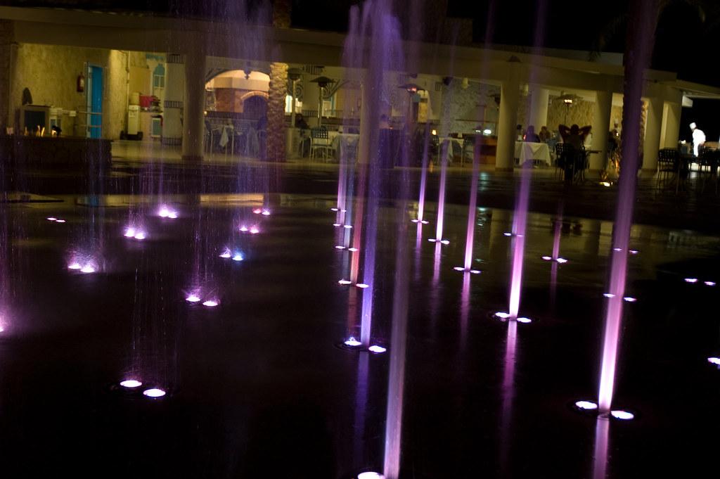 Slow Shutter Fountain