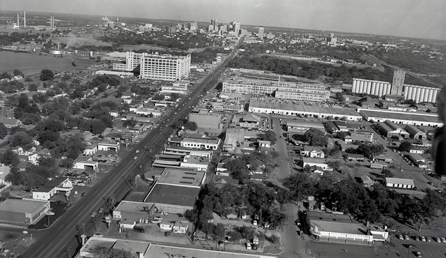 Aerial View Fort Worth 1950 7th Street Flickr Photo