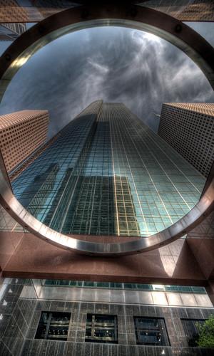 building architecture skyscraper texas tx houston explore wellsfargo hdr photomatix 6exp cooliris top20texas bestoftexas