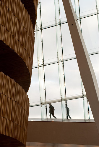 Detail from Oslo Opera House