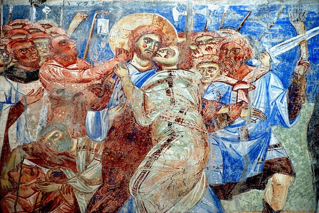 Sant'Angelo in Formis -Il drammatico bacio di Giuda