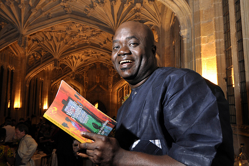 """Nigerian author E C Osondu won the £10,000 2009 Caine Prize for African Writing, the 10th year of the prize. His story, """"Waiting"""", from the October 2008 issue of Guernicamag.com, was said to be """"powerfully written with not an ounce of fat on it""""."""