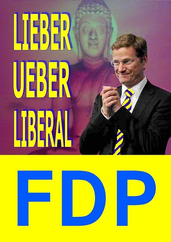 LIEBER UEBER LIBERAL FDP