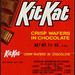 Kit Kat - 1 1/8 oz candy bar wrapper - 1980's