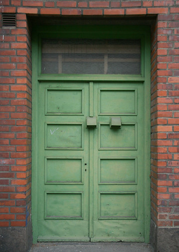 41-365: cool green door