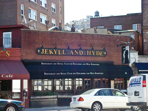 Downtown - The Jekyll and Hyde Restaurant and Social Club for Eccentric Explorers and Mad Scientists