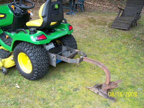 Diy Tractor Accessories : Homemade sleevehitch help mytractorforum the