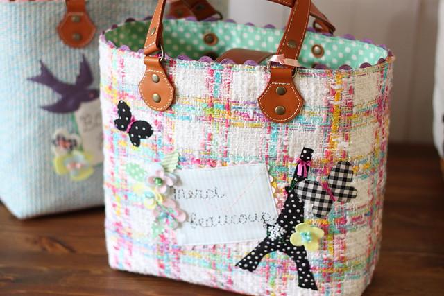 flower garden bag