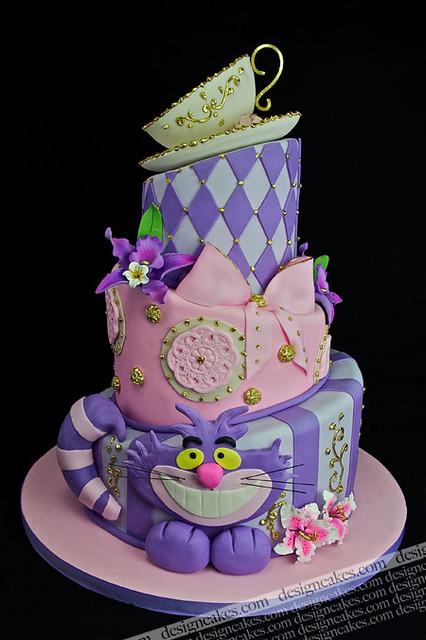 Alice Wonderland Cakes Awesome Alice In Wonderland Cake Thanks For