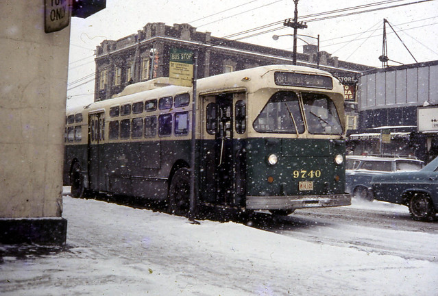 19680106 13 CTA 9740 Lawrence Ave. @ Kimball Ave. | Flickr - Photo ...