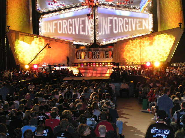 remember when ppv stages was unique and not the raw stage