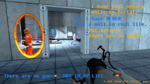 Shooting Walls in Portal